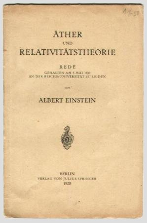 Albert einstein research paper